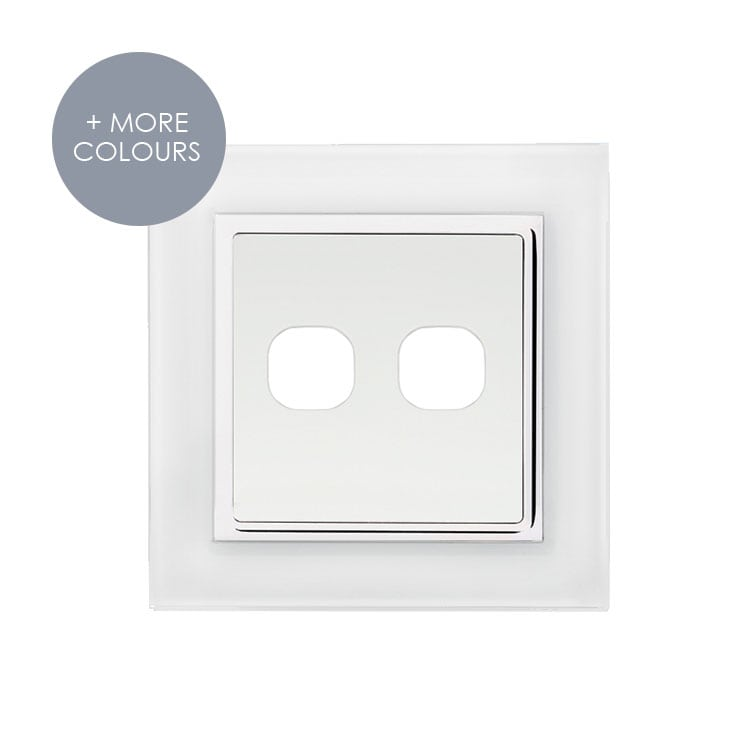EU-FC-Dimmer Two Hole